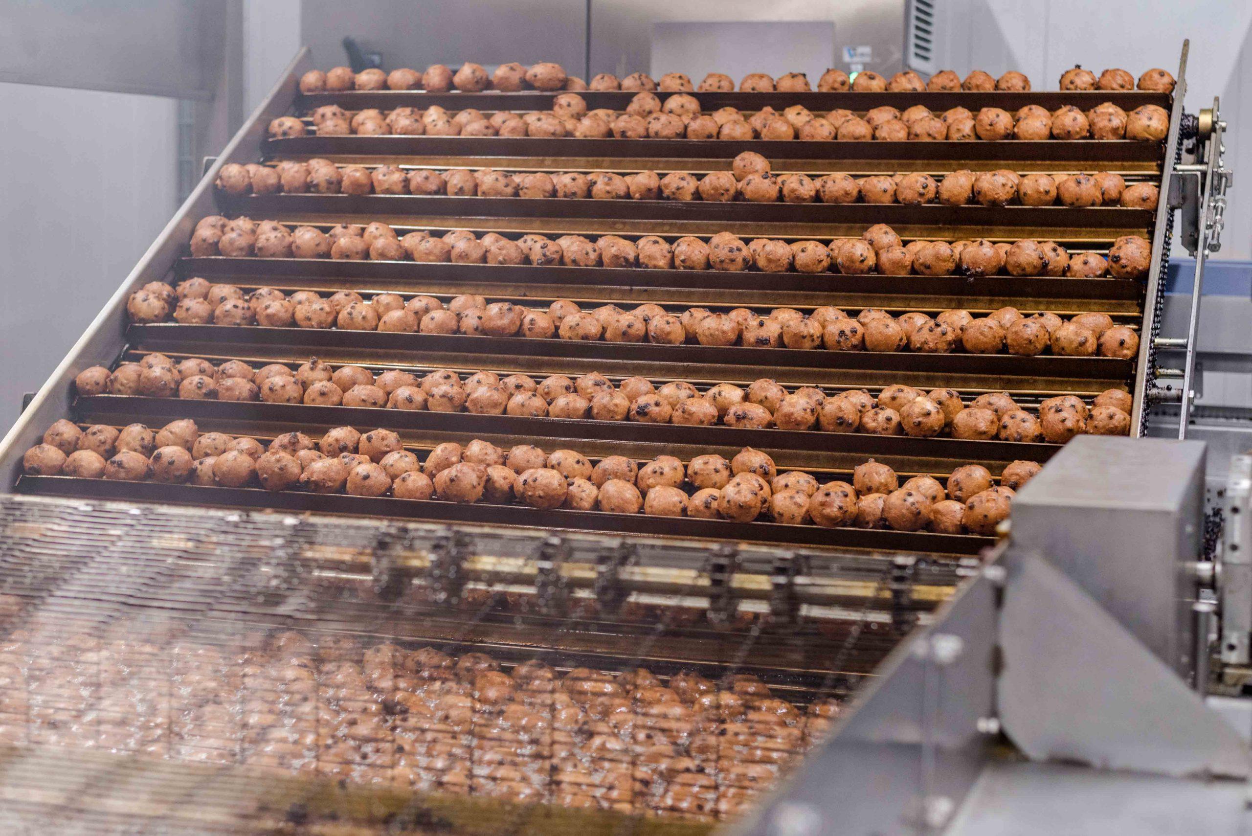 Bolas de rosquilla fritas-De Graaf Bakeries